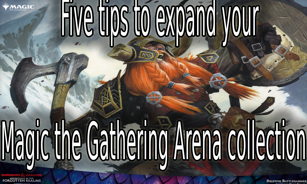 MTGA Forgotten Realms collection guide
