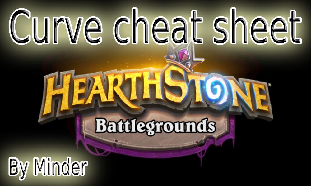 Battlegrounds Curve cheat sheet