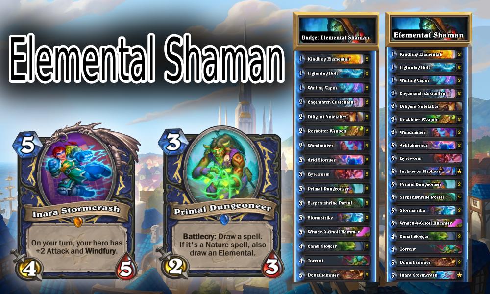 United in Stormwind Elemental Shaman