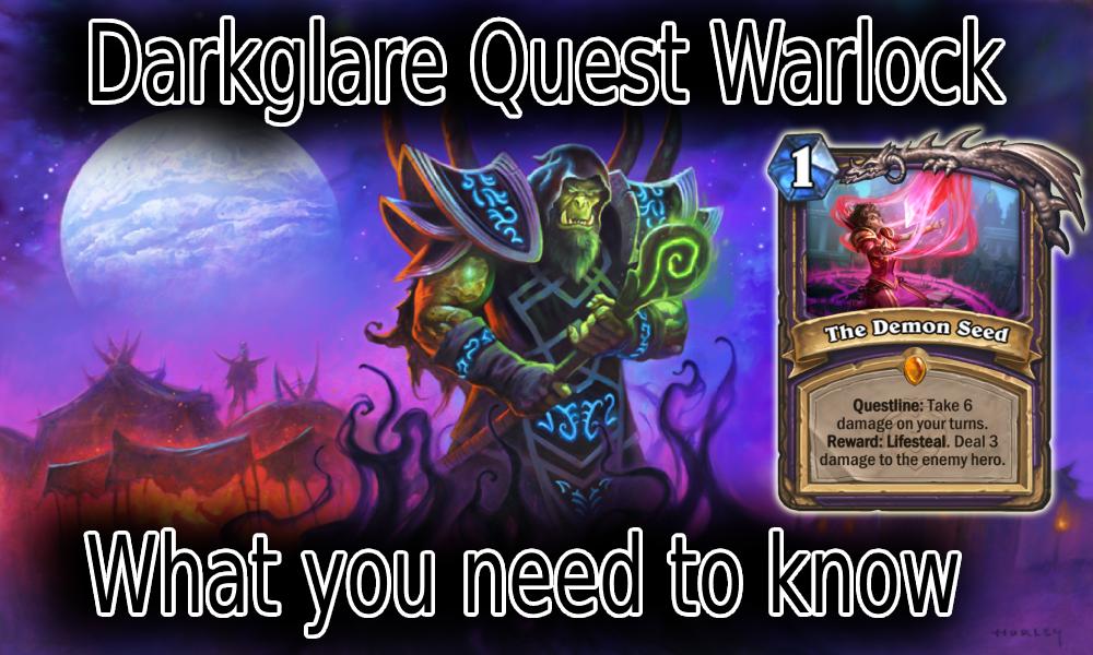 Darkglare Quest Warlock Guide